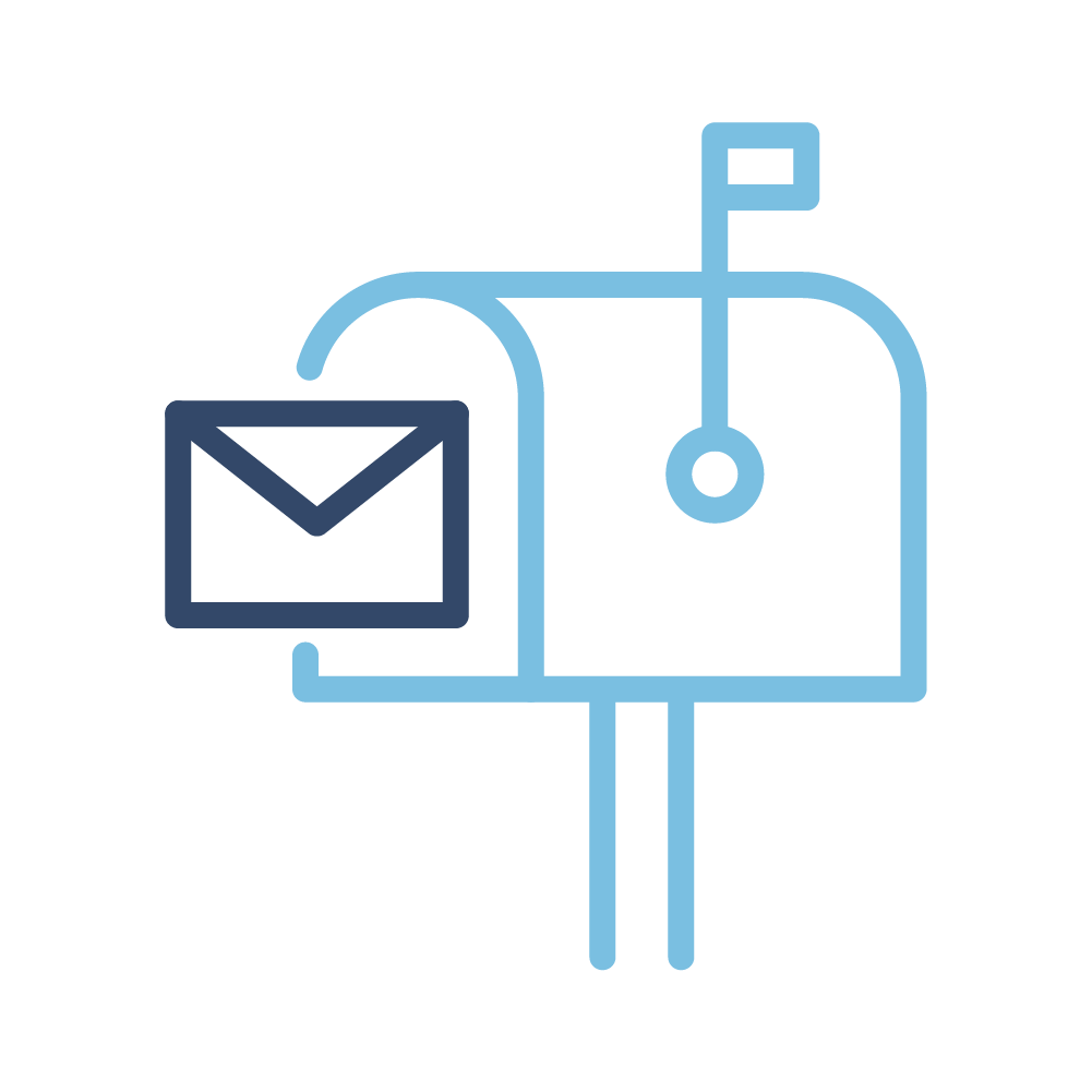 icoon brievenbus