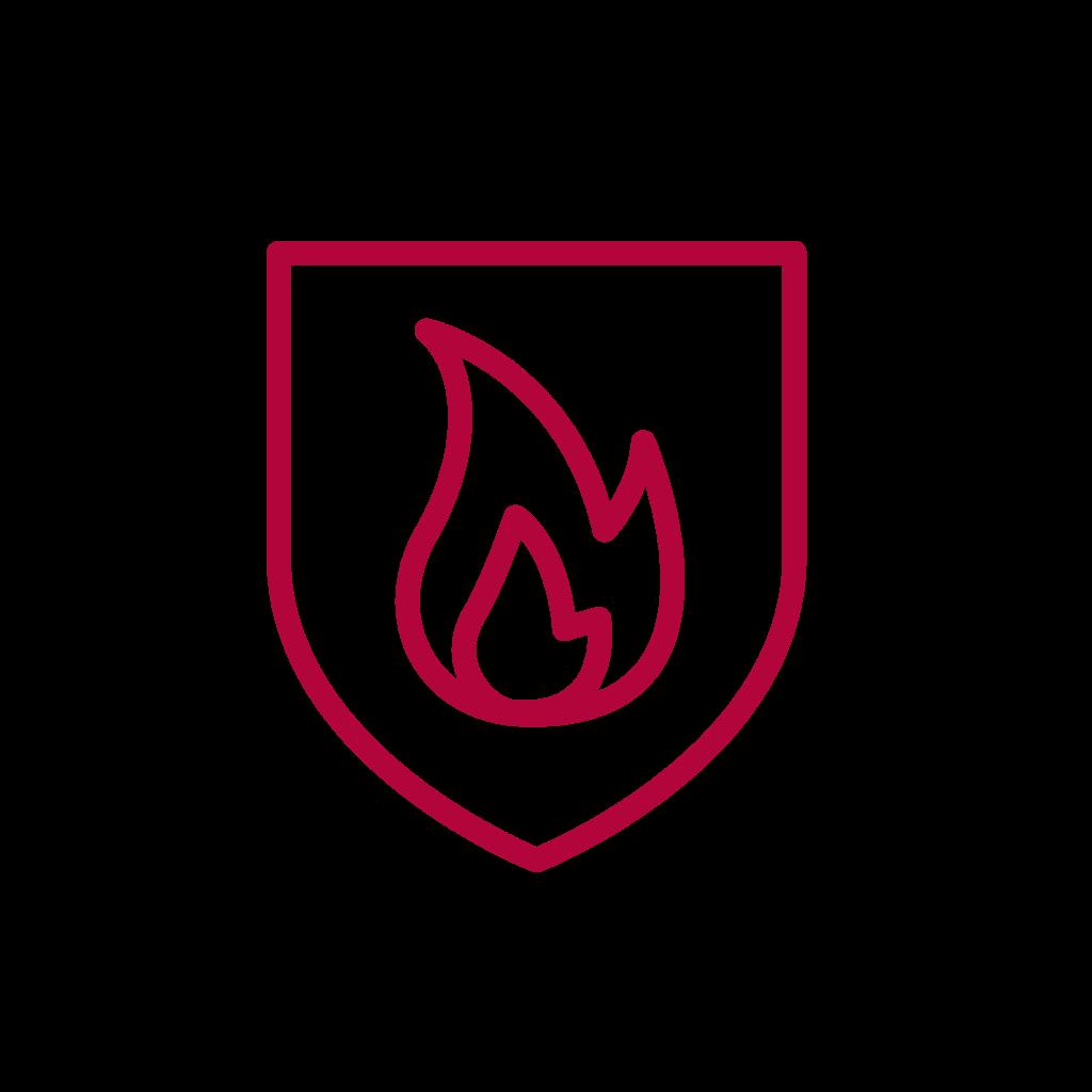 icoon brandveiligheid