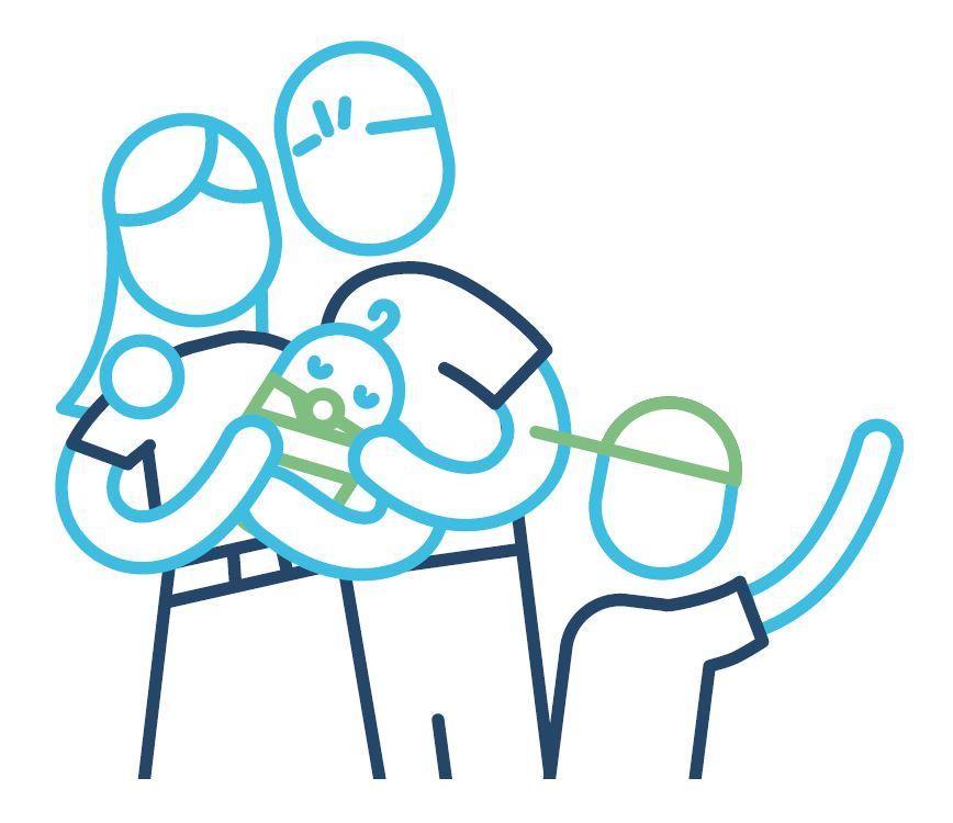 icoon gezin