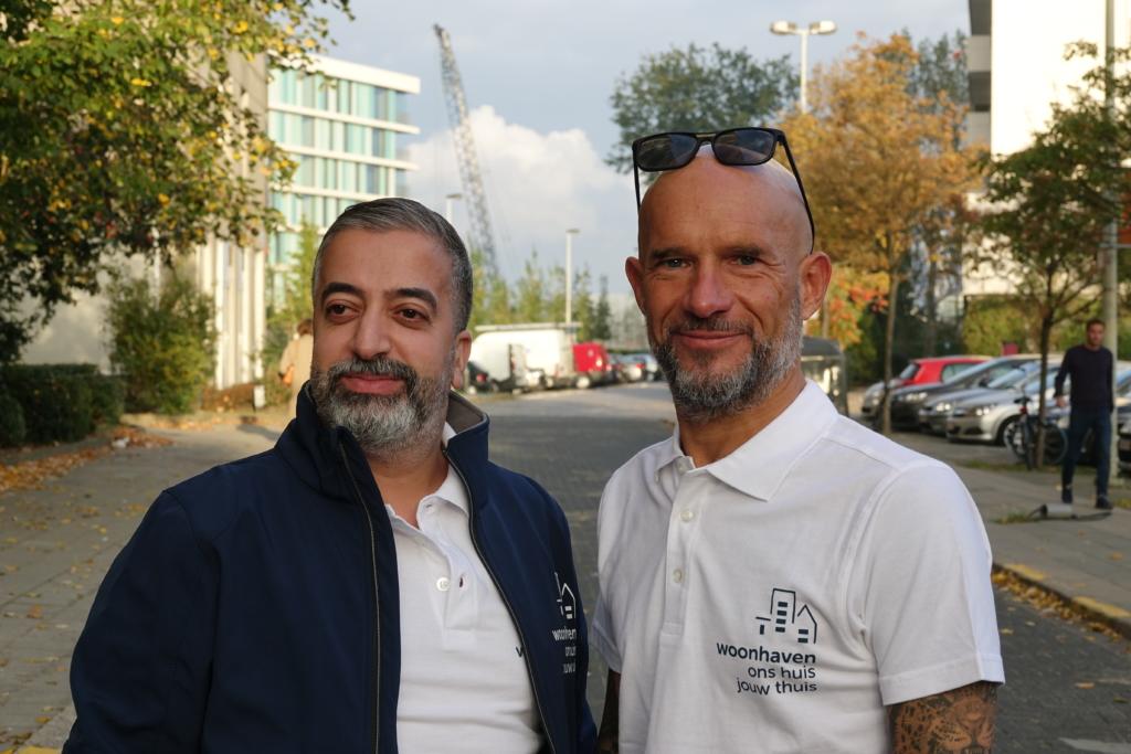 wijktoezichters Majid en Geert