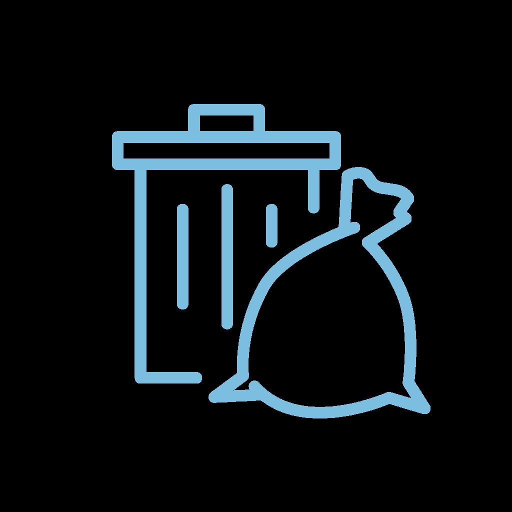 icoon afval